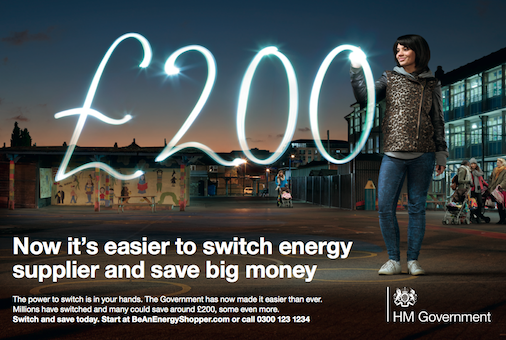 power to switch decc advert