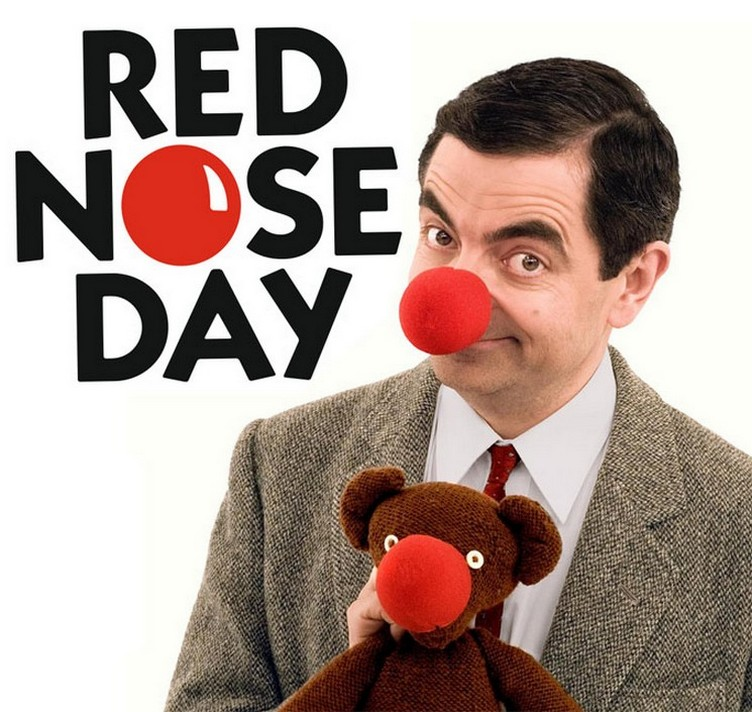 red nose day bean