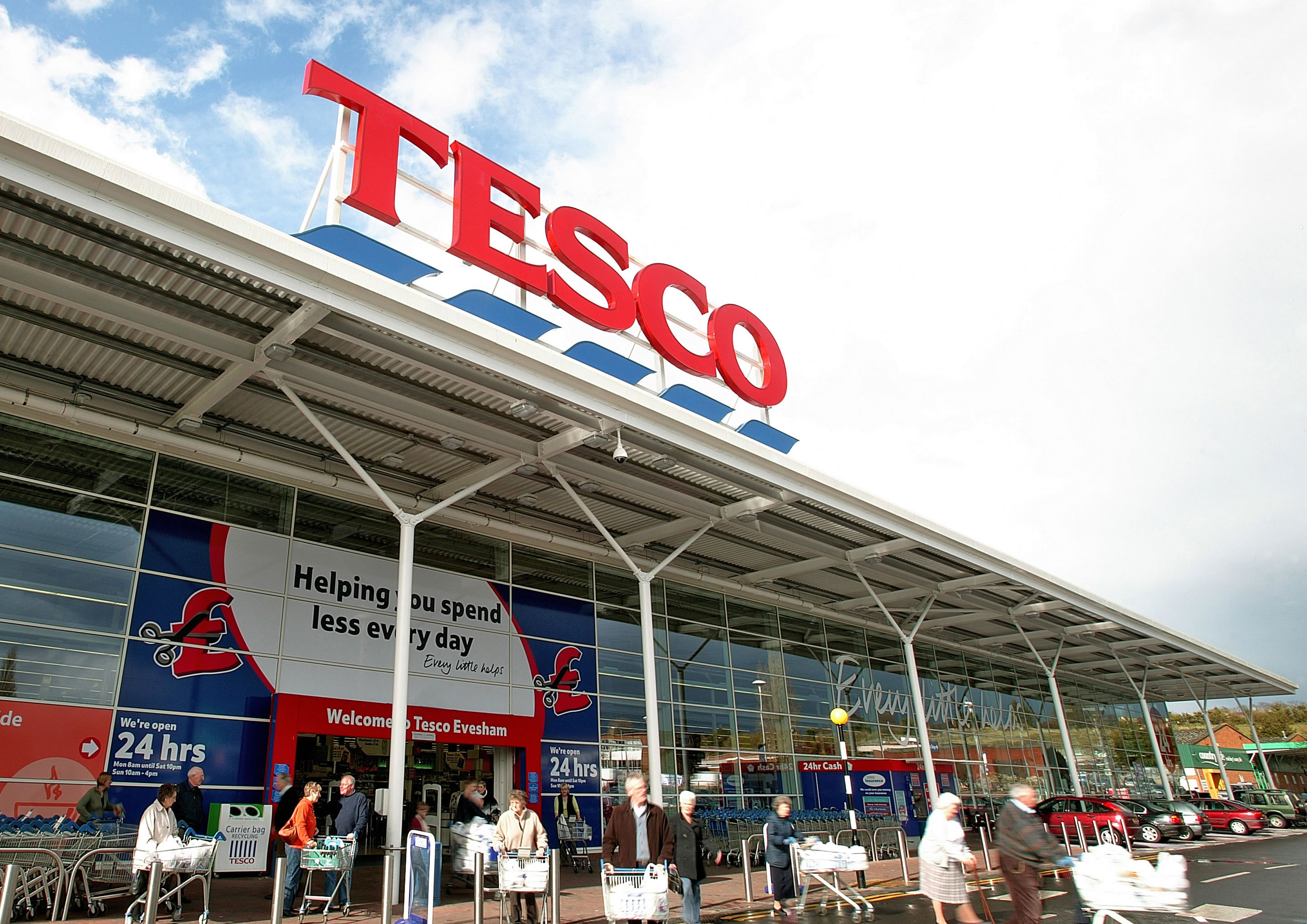 Tesco halts Eon sales